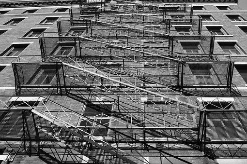 Street, New York, Building, Architecture, City, Usa