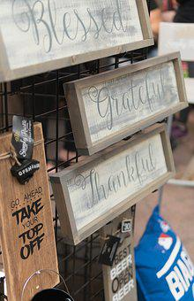 Signs, Sign, Business, Wooden, Design, Wood, Board