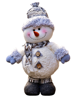 Snow Man, Figure, Christmas, Decoration, Figures