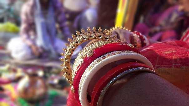 Jewellery, Indian Weeding, Gold