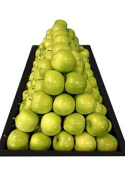 Green Apples, Fruit, Food, Healthy, Apple, Fresh