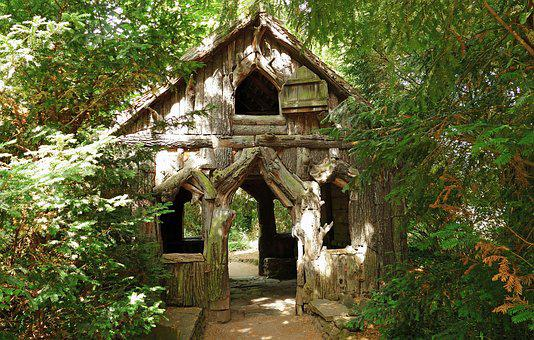 Block House, Witch's House, Haunting, Forest, Vacation