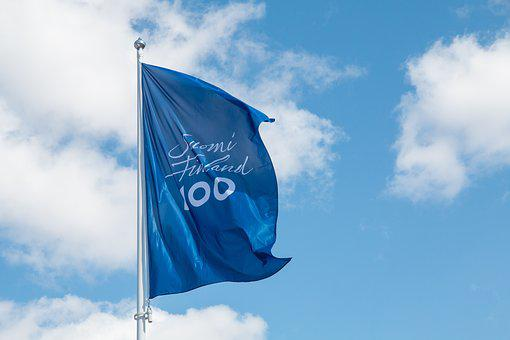Finnish, Finland 100, Suomi100, Flag, Independence Day