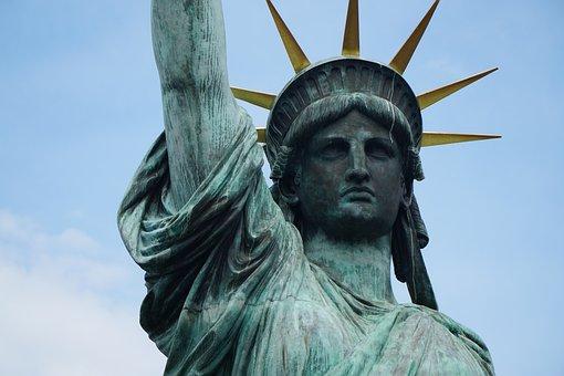 Statue Of Liberty, Tokyo, Sta, Japan, Statue, Odaiba