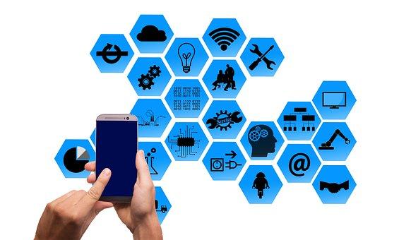Concept, Industry, Social Network, Media, Smartphone