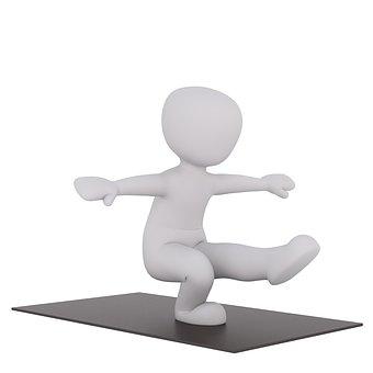Yoga, Kondalini, Sport, 3dman, 3d Model, 3d-model