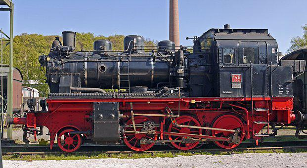 Steam Locomotive, Elna, Private Railway, Ble