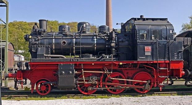 Steam Locomotive, Elna, Private Railway, Ble
