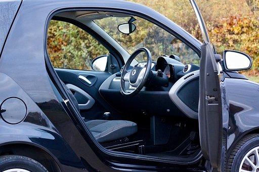 Smart, Car, Vehicle, Transport, Automobile