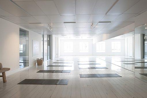 Yoga, Studio Shot, Health, Interior