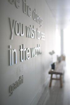 Quote, Gandhi, Yoga, Truth, Love, Spiritual