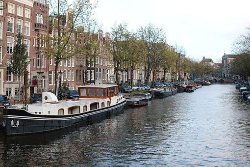 Amsterdam, Netherlands, Capital, City, Architecture
