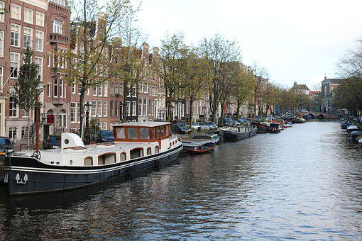 Amsterdam, Netherlands, Capital, City, Architecture