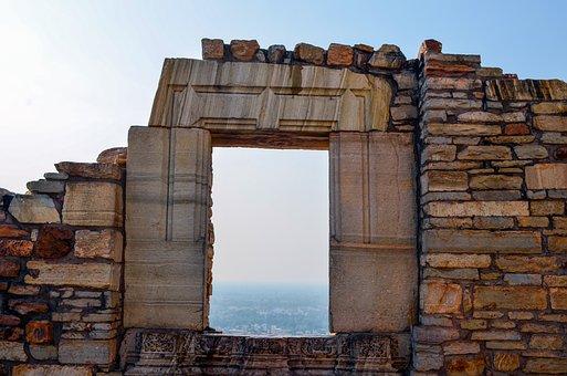 Chittorgarh, Rajasthan, India, Asia, Fort, Palace