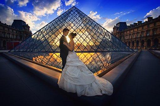 Wedding, Luxury, Bride, Background, Paris, Honeymoon