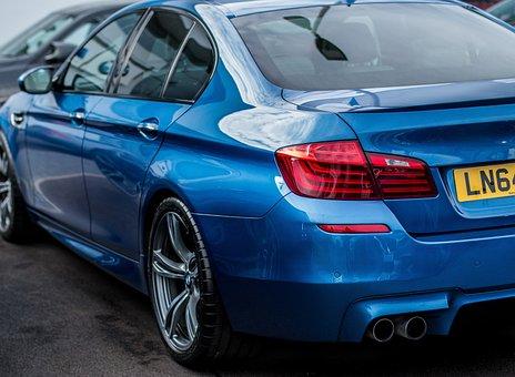 Bmw M5, Bmw, M5, F10 M5, F10, Blue, Car, Vehicle, Auto