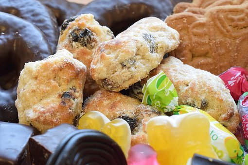 Biscuits, Christmas, Sweets, Sweet, Food, Breakfast