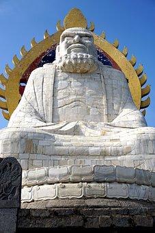 Bodhi Dharma Statue, Song Mountain, Buddhism, Song Shan