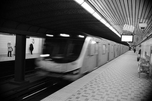 City, Urban, Subway, Toronto, Metro, Station, Train