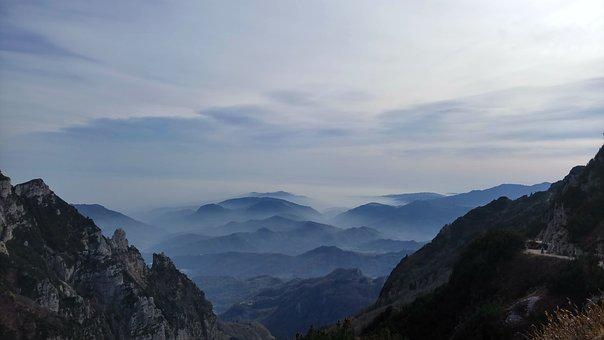 Valli Del Pasubio, Mountain, Clouds, Landscape, Fog
