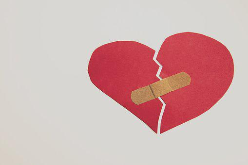 Broken Heart, Heart, Band-aid, Depression