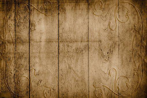 On Wood, Structure, Background Texture, Discreet