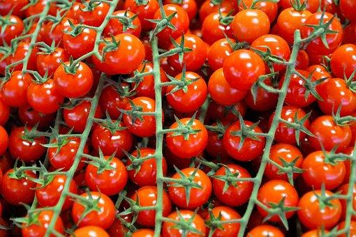 Tomatoes, Eat, Food, Vegan, Bio, Vegetables, Salad