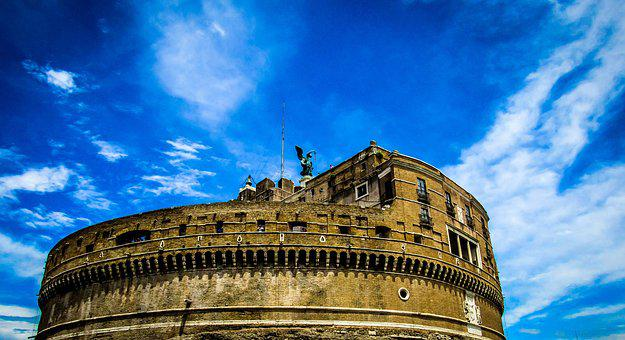 Rome, Fort Sant Angelo, Italy, Architecture, Europe
