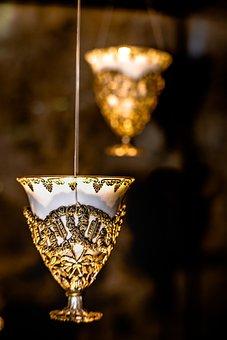 Glass, Ancient, Gold, Porcelain, Handmade, Ag, Museum
