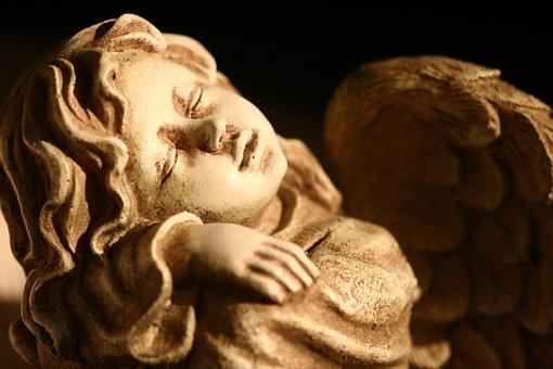 Angel, Guardian Angel, Rest, Silent, Dormant, Dreaming