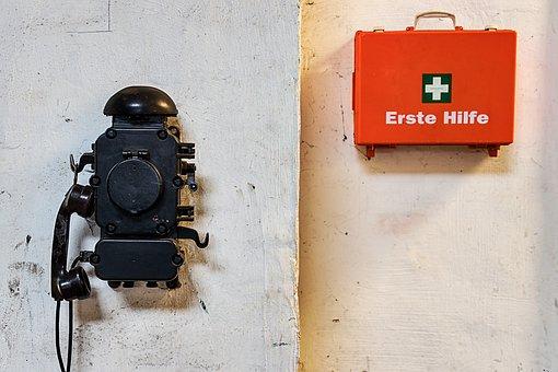 Phone, First Aid, First Aid Kit, Help, Kits Medical