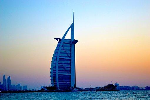 Dubai, Burj Al Arab, Uae, Travel, Landmark, Jumeirah