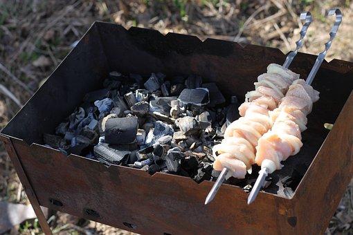 Shish Kebab, Nature, Food, Skewers, Mangal, Fried Meat