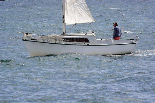 Boat, Sailboat, Navigation, Marin, Wind, Sea, Browse