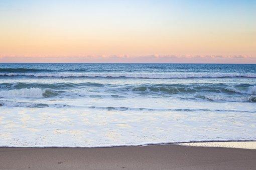 Beach, Sunset, Ocean, Sunset Beach, Sea, Sky, Water