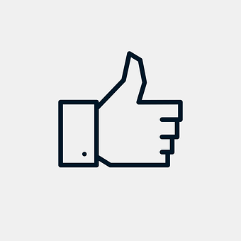 Like, Facebook, Social Media, Icon, Thumbs Up, Up, Pro