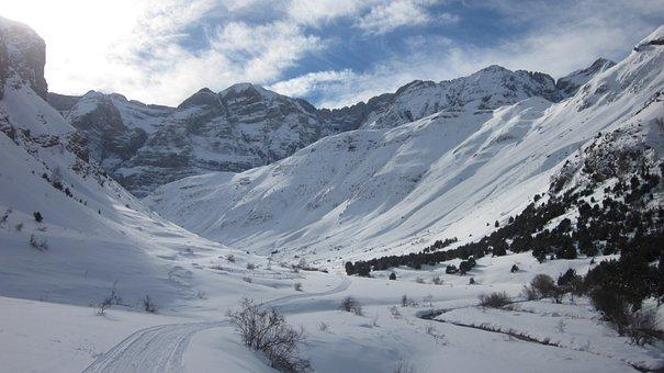 Snowshoes, Aragonese Pyrenees, Pyrenees, Aragon