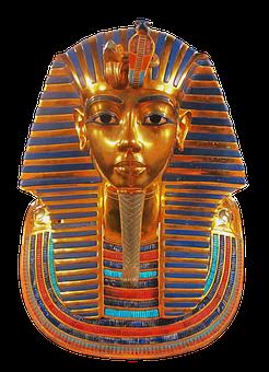 Mask, Replica, King, Tutankhamun, Face, Egyptian, Gold