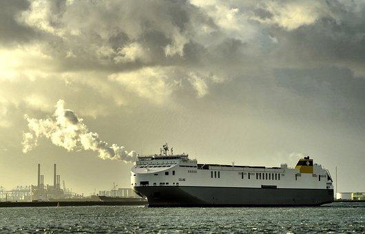 Ms, Celine, Rotterdam, Ro-ro, Vessel, Ship, Europoort