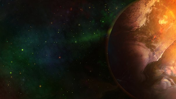 Gimp, Planet, World, Space, Astronomy, Star