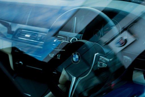 Bmw M5, F10, Steering Wheel, Car, Vehicle, Auto