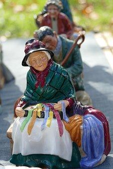 Ceramics, Image, Art, Woman, Old, Vintage, Pottery