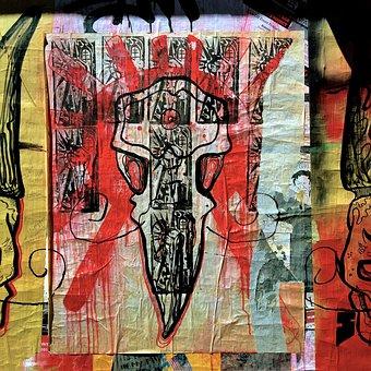 Street Art, Poster, Seattle, Washington