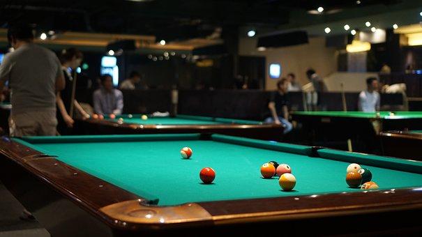 Billiards, Playground, Billiard Table, Bar, Ball