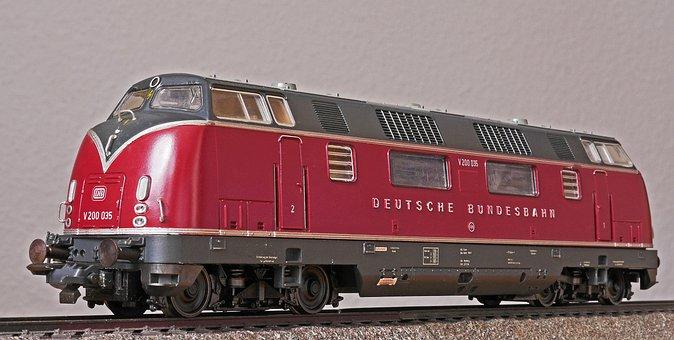 Diesel Locomotive, V 200, Classic, 1950s