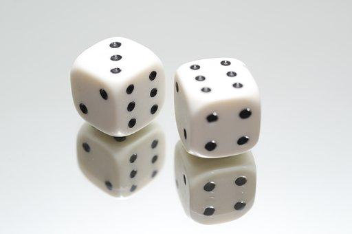 Dice, Eyes, Luck, Game, Gamble, Play, Gambling, Fun