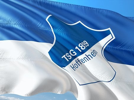Flag, Logo, Football, Bundesliga, Tsg Hoffenheim