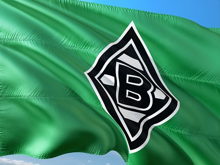 Flag, Logo, Football, Bundesliga