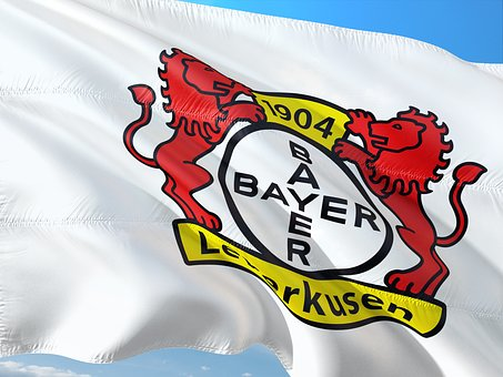 Flag, Logo, Football, Bundesliga, Bayer Leverkusen