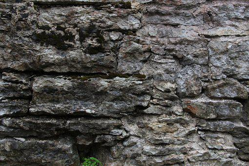 Stone, Rock, Tallinn, Texture, Gray, Wall, Old, Outdoor